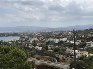 Large Elevated Plot With Unobstructed Views Of Agio Nikolao And Mirabello Bay | Crete Homes | Crete